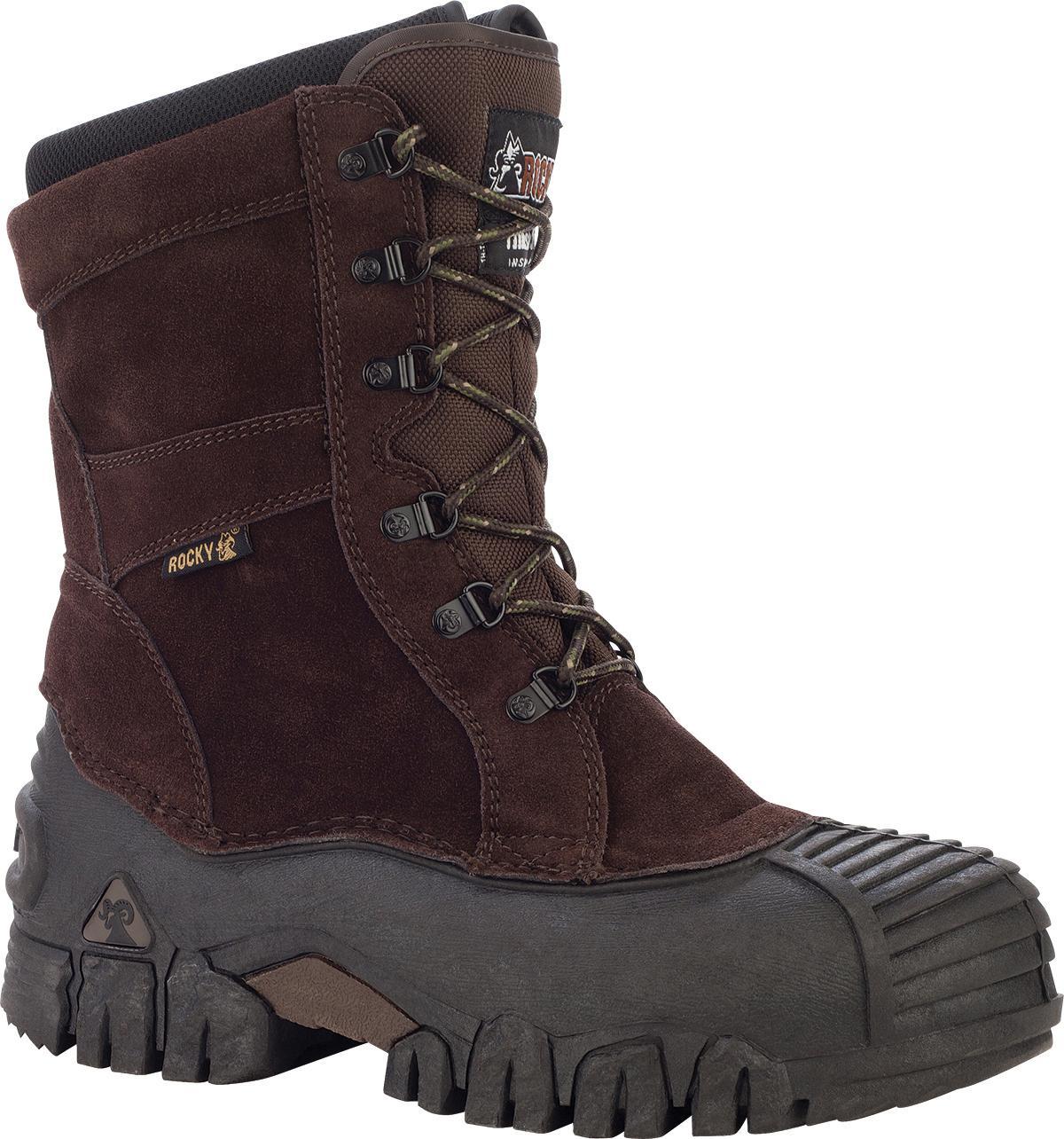 "Rocky 8"" Jasper Trac Insulated Outdoor Boots  00004799"